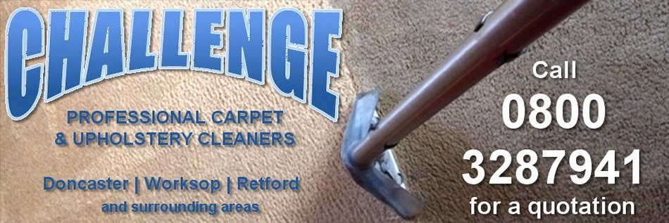 Challenge Carpet Cleaners - Carpet and Upholstery Cleaning in Doncaster, Retford and Worksop